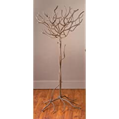 Natural Large Metal Tree 47H Great to Display Lanterns Lights and Votive Candles