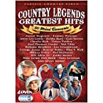 Country Legends: Greatest Hits - 50 Mini Concerts DVD