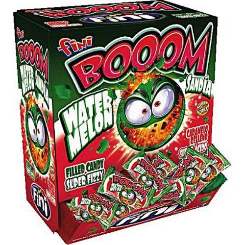 FINI Booom 200 Kaugummis mit saurer Wassermelone (1,2kg Packung)