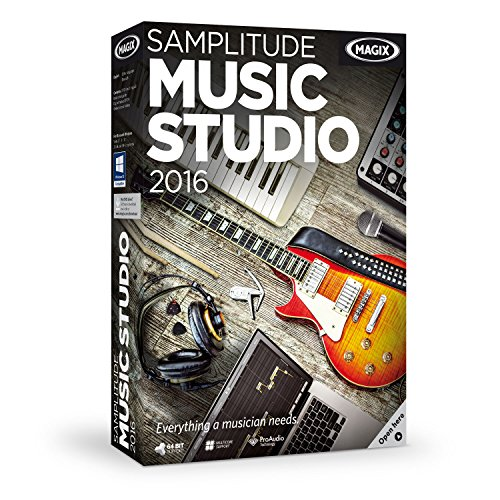 MAGIX Samplitude Music Studio 2016 (Beat Maker Equipment compare prices)