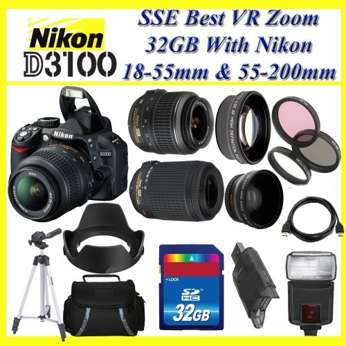 Nikon D3100 SLR Digital Camera
