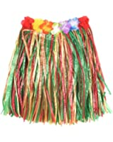 Childs Flowered Hula Skirt (Multi-Colour)