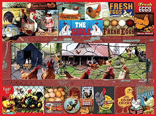 The Chicken or the Egg a 300-Piece Jigsaw Puzzle by Sunsout Inc.