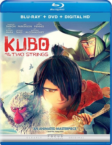Blu-ray : Kubo And The Two Strings (With DVD, Ultraviolet Digital Copy, Digitally Mastered in HD, Digital Copy, 2 Pack)