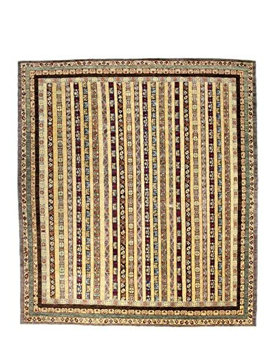 Bashian Rugs One-of-a-Kind Hand Knotted Mansehra Rug, Multi, 8' 3 x 9' 2