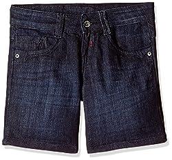 Kraus Jeans Women's Shorts (LHS-24_Blue_26)