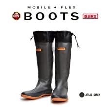 メガバス(Megabass) MOBILE FLEX BOOTS(モバイルフレックスブーツ) LL(27cm) 34902