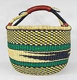TKUGA Ejura African Round Basket -FREE SHIPPING