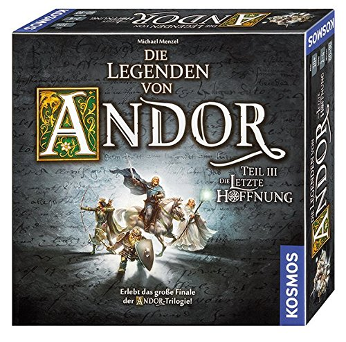KOSMOS Games 692803 - the legends of Andor - Part III The last Hope, Game