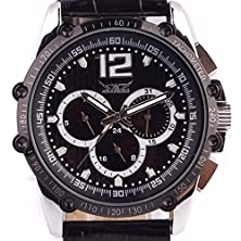 buy Jaragar 6 Hands Multiple Function Date Watches/Men/Wrist Watches'S Auto Mechanical Wristwatch Black