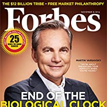 Forbes, November 8, 2016 Periodical by  Forbes Narrated by Daniel May