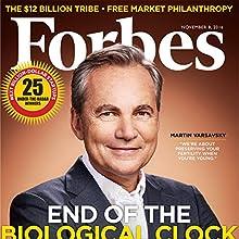 Forbes, November 8, 2016 Périodique Auteur(s) :  Forbes Narrateur(s) : Daniel May