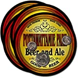 Pottawattamie Park , IN Beer & Ale Coasters - 4pk
