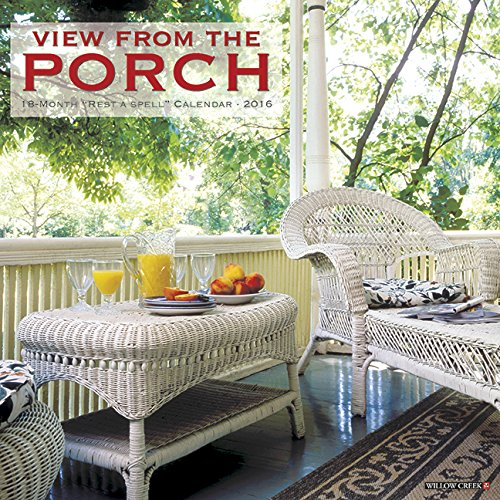 2016 Porch View Wall Calendar