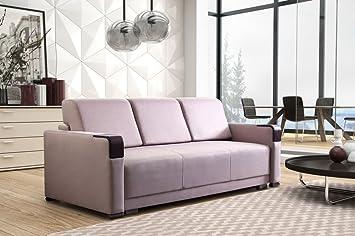 Sofa Arko 3-sitzer mit Schlaffunktion Schlaffcouch Polstersofa Polstercouch 03