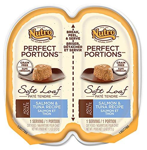 Nutro Perfect Portions Adult Soft Loaf Salmon Tuna Recipe