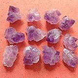 12pcs Natural Crystal Quartz Cluster Material Manualidades Amethyst Specimen Feng Shui Crystals