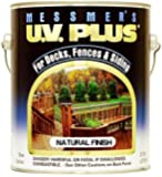 Messmer's MC-500-1 Stain, UV Plus ~ Natural Finish ~ Gallon