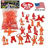 TimMee Galaxy Laser Team 54mm Space Figures: 50 Piece Set - Made in the USA!