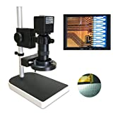 16MP 1080P @60FPS HDMI Output Industrial Microscope Digital Camera Wireless Control C-MOUNT Zoomable