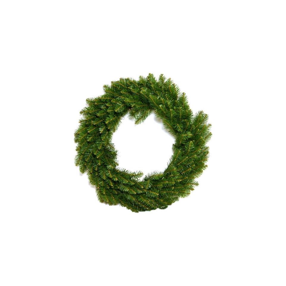 Good Tidings CHT01054 36 Inch Cape May Fir Artificial Prelit Christmas Wreath