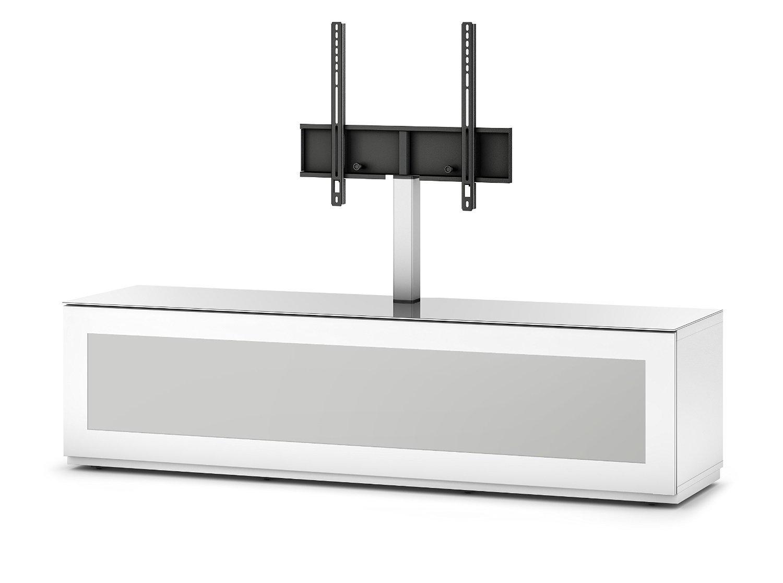 Sonorous STA 261I-WHT-WHT-BS Lowboard für 177,8 cm (70 Zoll) Fernseher weiß
