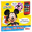 Mickey Mouse Clubhouse Cell Phone and Sound Book: Calling All Pals
