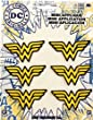 Application DC Comics Originals Wonder Woman 6 Pat Ch Set Novelty, 2""