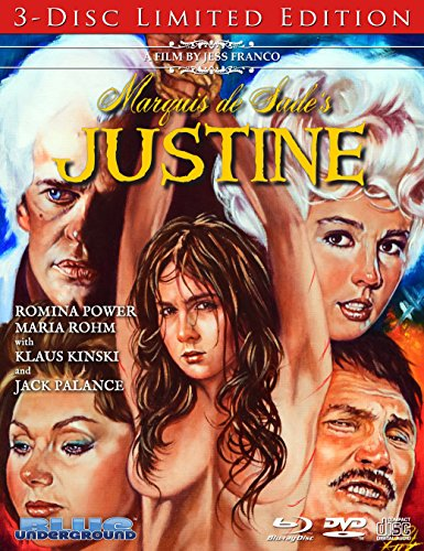 Marquis de Sade's Justine [Blu-ray + DVD + CD Combo]