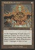 Mask of Intolerance (Magic the Gathering : Apocalypse #138 Rare)