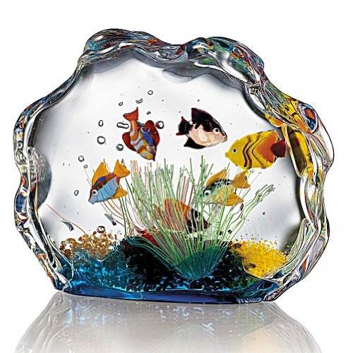 smithsonian murano glass aquarium coconuas91. Black Bedroom Furniture Sets. Home Design Ideas