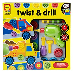 ALEX Toys - Early Learning, Little Hands Twist & Drill, 1485