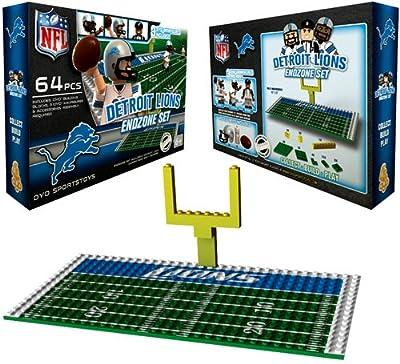 NFL Detroit Lions Endzone Toy Set