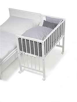 Inclusive Textile Blanc Star Grey Schardt Berceau Multifonctionnel Vario Massive