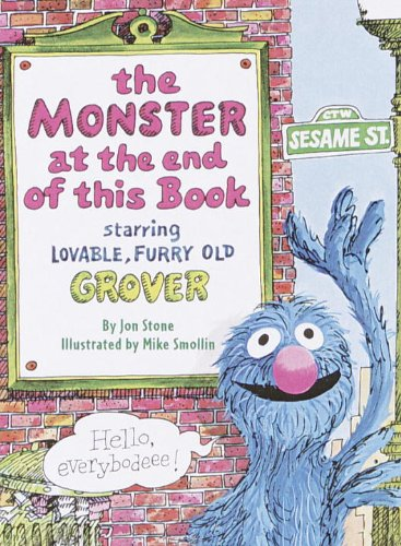 The Monster At The End Of This Book (Sesame Street) (Big Bird'S Favorites Board Books) front-858492