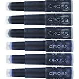 Cross Fountain Pen Ink Cartridge - Blue/Black, 6 per card (8924) (Color: Blue/Black)