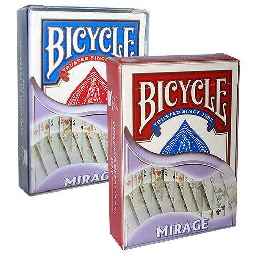 Mazzo di Carte Bicycle - Mirage dorso blu - Mazzi Bicycle - Carte da gioco - Giochi di Prestigio e Magia