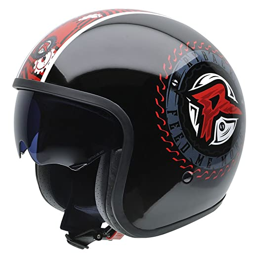 NZI 050309G805 Rolling Ryback MORE by Superstars WWE, Casque de Moto, Taille S Multicolore
