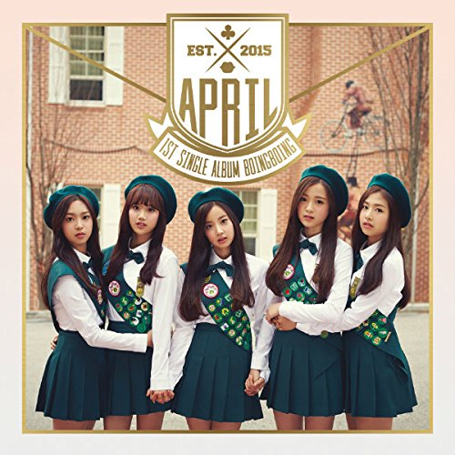 1st シングル - 'Boing Boing' (韓国盤)