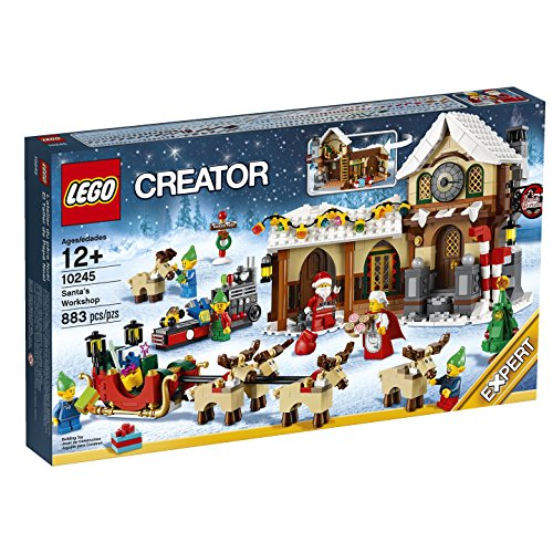 New LEGO Creator Expert Santas Workshop
