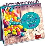 Viele-bunte-Wnsche-fr-dich-2017-Tischkalender-mit-Wochenkalendarium