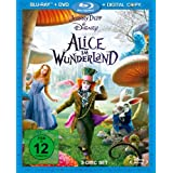 "Alice im Wunderland (plus DVD + Digital Copy) [Blu-ray]von ""Mia Wasikowska"""