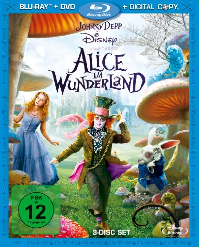 Alice im Wunderland (plus DVD + Digital Copy) [Blu-ray]