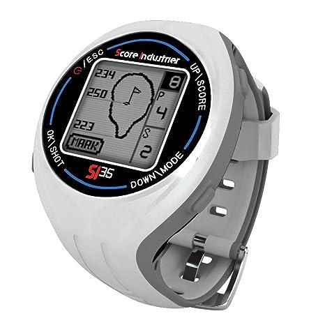 Score Industries 55552 SI 35 Montre GPS de golf Blanc