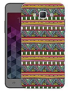"Humor Gang Aztec Tribal Pattern Printed Designer Mobile Back Cover For ""Samsung Galaxy j7"" (3D, Matte, Premium Quality Snap On Case)"