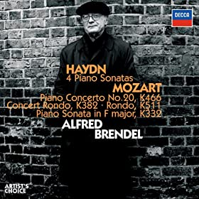 Mozart: Concert Rondo for Piano and Orchestra in D. K.382 - 2. Adagio