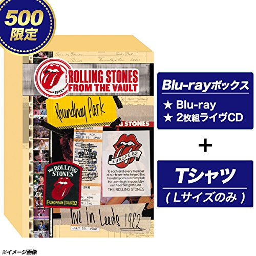 ストーンズ - ライヴ・イン・リーズ 1982【完全生産限定盤500セット:Blu-ray+2CD/Tシャツ(Lサイズのみ)/日本語字幕付】