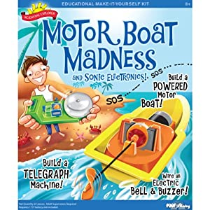 Scientific Explorers Motor Boat Madness Kit-