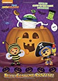 Silly Costume Contest (Team Umizoomi) (Glow-in-the-Dark Sticker Book)