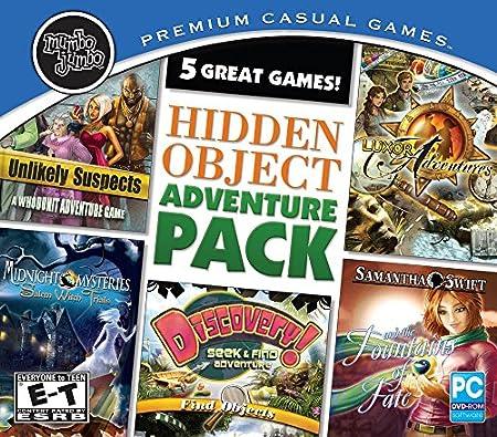 Hidden Object Adventure, 5 Pack
